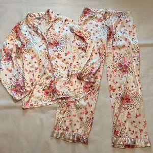 Victoria's Secret satin pajamas pants set medium